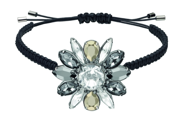 Swarovski by Shourouk Bracelet black