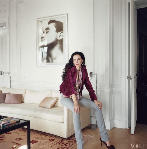 L'Wren Scott para Vogue