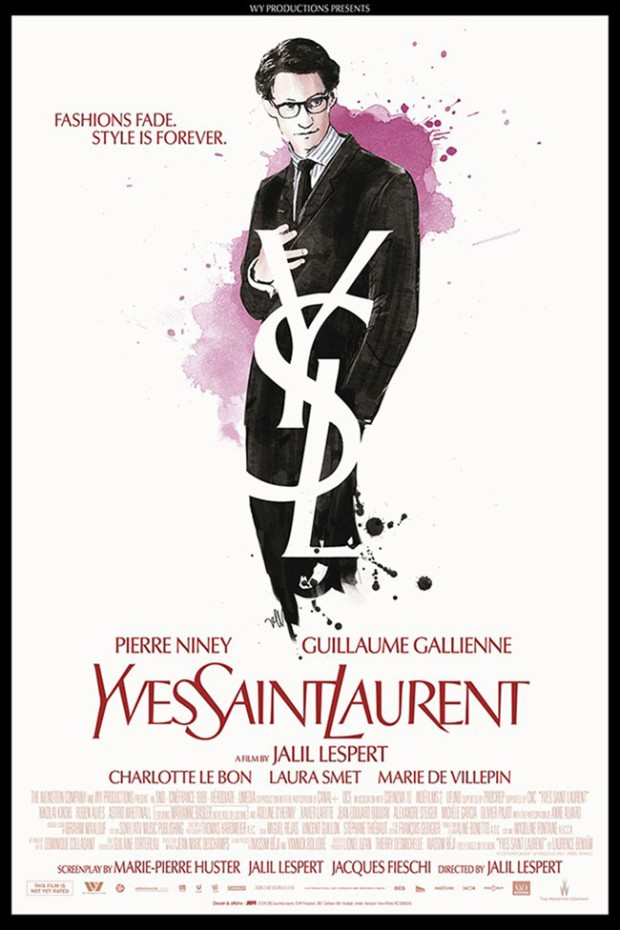 YvesSaintLaurent Poster