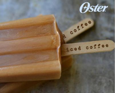 Paletas heladas de café