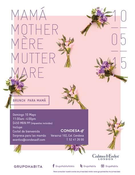Crabtree Evelyn bruch día de las madres 2015