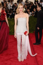 MET Gala 2015 Diane Kruger en Chanel Getty Images