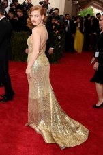 MET Gala 2015 Jessica Chastain Givenchy GI