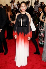 MET Gala 2015 Olivia Munn J Mendel GI